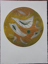 Gravure etching Henri GOETZ signée numérotée petit tirage s/40 *