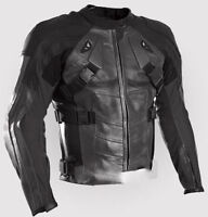 DeadPool Black Motorcycle Leather Jacket Sports Motorbike Racing Leather Jacket