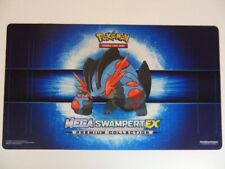 YUGIOH! Pokemon Mega Swampert EX Playmat x1