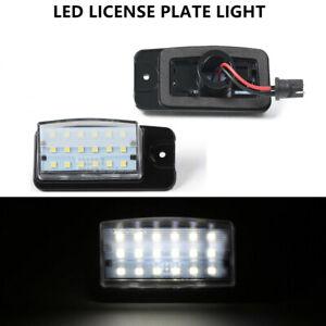 White LED License Plate Lights For Nissan Altima Maxima Pathfinder Infiniti FX35