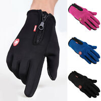 Touch Screen Windproof Waterproof Outdoor Sport Gloves Men Women Winter gloves