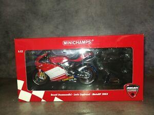 Minichamps 1/12 moto Ducati Moto GP