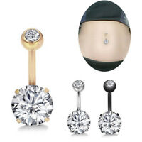 Belly Button Ring Crystal Rhinestone Jewelry Navel Bar Body Piercing Jewel'te sp