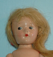 """Madame ALEXANDER NEW YORK U.S.A. 9"""" jointed COMPOSITION DOLL CISSY"""