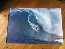 wave Surfer Hawaii long board poster bar  print Man cave banner flag vinyl sign