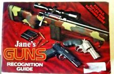 Jane's Gun Recognition Guide Pistols Rifles and Machine Guns etc.Over 500 pages
