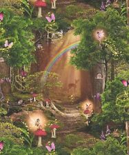 Arthouse Magic Garden Multi Wallpaper 696009 Girls Fairies Butterflies Forest