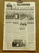 Vintage Schwinn Reporter Bicycle Dealer Newsletter Newspaper February 1967