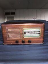 New ListingRca Tube Radio 1940 Converted Farm Set With Nipper On Dial