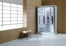 2-Person Steam Shower Enclosure w/Sliding Glass Door-7 Year Warranty!