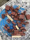 VINTAGE, SMALL COLLECTION MINIBRIX ALL RUBBER BUILDING BLOCKS PRE-LEGO (1950S)