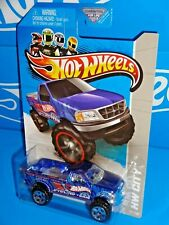 Hot Wheels 2013 HW City Works #45 Ford F-150 Blue w/ OR5SPs No Bed Cover