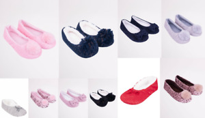 Adults Ladies Ballerina Comfy Warm Soft Light Winter Fluffy Slippers