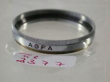 ORIGINALE Agfa UV Obiettivo Lens FILTRO FOTO PHOTO 37mm 37 e37 fil2377/8