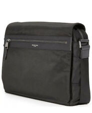Michael Kors Men's Kent Nylon Large Messenger Bag Black MSRP $198