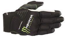 Motorradhandschuhe Alpinestars Force Gloves schwarz Gr. M Monster Energy