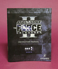 INSTRUCTION BOOKLET/MANUAL ONLY FOR STAR WARS THE FORCE UNLEASHED PS3 (NO GAME)⭐