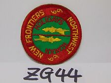 VINTAGE PATCH BSA BOY SCOUT OF AMERICA 1969 NORTHWEST NEW FRONTIERS