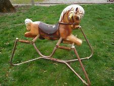 Vintage Wonder Horse Spring Rocking Horse