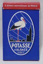 L'ALSACE MERVEILLEUSE DE HANSI Potasse cigogne carnet / Notebook neuf