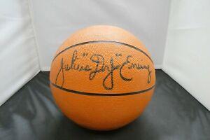 Julius Erving Dr J HOF Signed Basketball