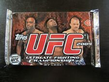 2009 Topps UFC Ultimate Fighting Championship Unopened Hobby Pack 8 Card MMA