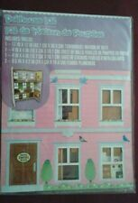 "DIY Dollhouse Kit de Maison de Poupées Townhouse 17"" x 12"" - New"