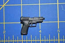"1/6 scale Black Handgun Gun Pistol for 12"" Action Figures W-205"