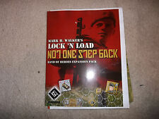 Lock 'N Load LNL Games Not One Step Back Band of Heroes Expansion Pack