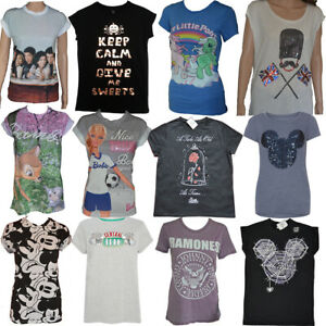 Ladies Disney T Shirt Tee Top Womens Harry Potter T shirt Girls T Tops Primark