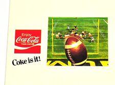 DRINK COCA COLA COKE USA American Football 4er Set regola carte 1970er