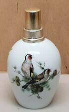 Lampe Berger  porcelaine Limoges Décor Oiseaux HO edite Teissonniere