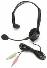 3.5mm Wired Stereo Headset with Mic Microphone Headphone For PC Laptop Desk