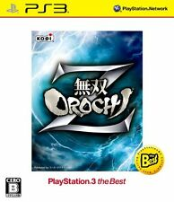 USED Musou Orochi Z (PlayStation3 the Best) Japan Import PS3