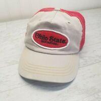 Ohio State Buckeyes NCAA Trucker Mesh Back Hat Cap University Snapback OSU
