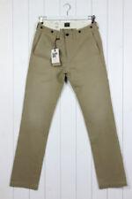 Pantaloni da uomo beigi marca Lee Taglia 32