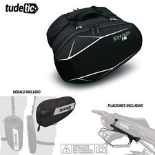 SHAD Kit fijaciones y bolsas semirigidas + bolsa pierna regalo 3D E48  KTM DUKE