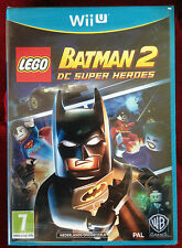 LEGO BATMAN 2 DC SUPER HEROES Nintendo Wii U WIIU PAL ++ 100% NEUF ++