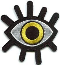 Eye eyeball tattoo wicca occult goth punk retro applique iron-on patch S-1234