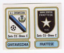 figurina SCUDETTO CALCIATORI PANINI 1981/82 NEW num. 551 CIVITAVECCHIA FRATTESE