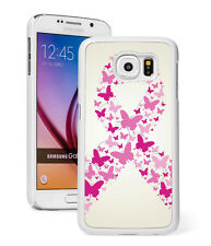 For Samsung S8 S7 S5 S6 Edge + Note Active Case 964 Butterflies Breast Cancer