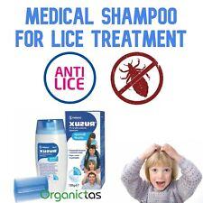 Medical Head & Pubic Lice Treatment Shampoo 120ml w. Comb, Children 5+ & Adults