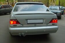 Mercedes W140 S-class 4dr trunk and window spoiler Lorinser-Style spoilers