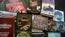 PC GAME LOT 12 GAMES Drakan, Dungeon Siege 2, Lord Of The Rings, and more