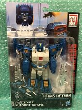 Transformers Generations Titans Return: Topspin. Brand New/Sealed. Rare!