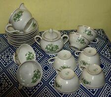 RICHARD GINORI  Servizio Tè 8 Persone No Teiera Ceramica Stupendo Pottery 1940
