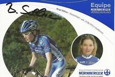 Cyclisme, ciclismo, wielrennen, radsport, cycling, BIRGIT SOLLNER signé