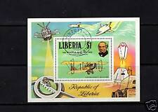 M/S, S/S OF STAMPS FROM LIBERIA, ROWLAND HILL 1879-1979