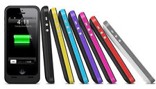 COVER CUSTODIA CON BATTERIA  DI RISERVA JUICE PACK PER IPHONE 4-4S 2000 MAH