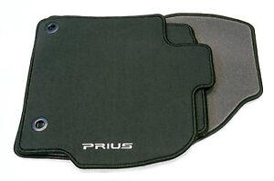 Genuine Toyota Prius 2009> Textile Carpet Mats Mat Set PZ410-G2353-BB Anthracite